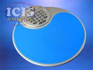 Mouse Pad Circular con Calculadora