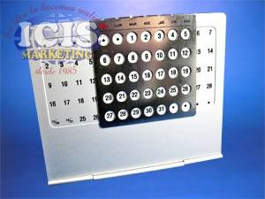 Calendario Perpetuo Metálico