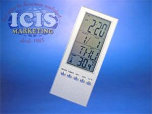 Reloj, Termómetro y Calendario Digital de Escritorio