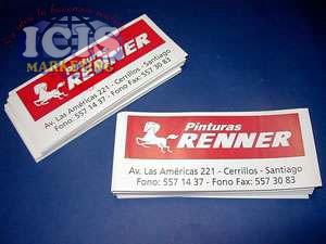 Autoadhesivos o stickers en PVC