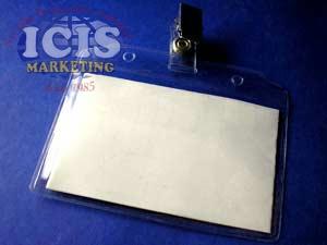 Portacredencial Transparente ( 9 x 5,5 cms )