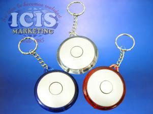 Llavero circular linterna