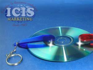Llavero Limpia CD