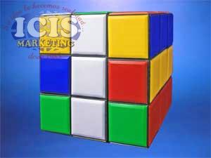 Cubo Rubik Gigante 9 x 9 x 9 cms.