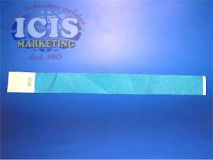 Pulsera de Papel Cyan ( 25.8 x 2.6 cms )