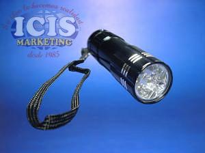 Linterna 9 luces led  Promocional con LED