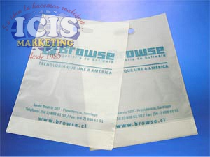Bolsa Plástica Publicitaria (40 x 30 x 11.5 cms)