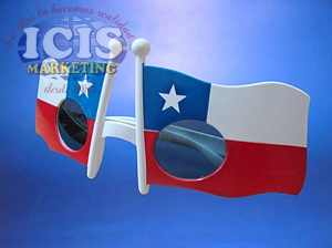 Lentes  Bandera Chilena