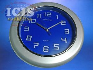 Reloj Mural Gris