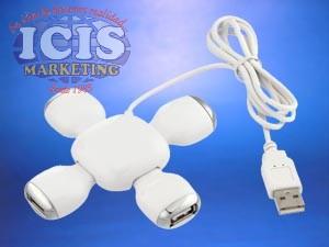 Alargador 4 Puertos USB