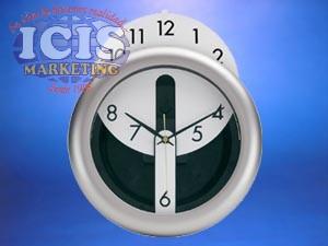Reloj Mural 26 cms. (con opción impresión todo color interior)
