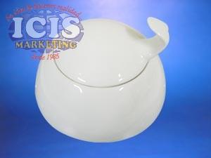 Azucarero  contoru de cerámica