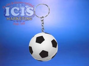 Llavero pelota fútbol anti stress