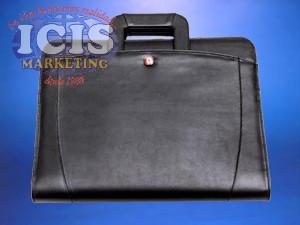 Portafolio tipo maletín con cierre