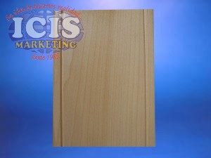 Galvano  de  madera media carta Modelo 2