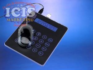 Padmouse  con calculadora incluida y 3 puertos de USB,