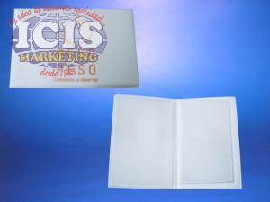 Porta Documento Tapa Rígida con Logo Impreso