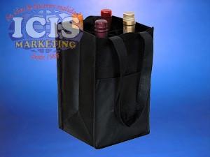 Bolsa TNT 4 botellas de vino