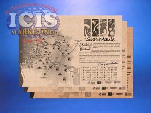 Individual en papel kraft Merchandising  Promocional