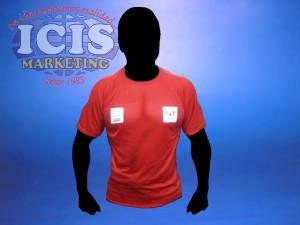 Polera o camiseta de poliester para equipos deportivos