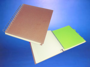 Cuaderno o agenda Publicitario Ecológico tapa dura