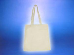 Bolsa de algodón de 38 x 40 cm, manillas 38 cm
